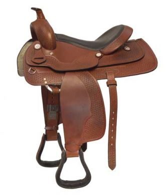 COLT WESTERN SADDLE AND BRIDLE